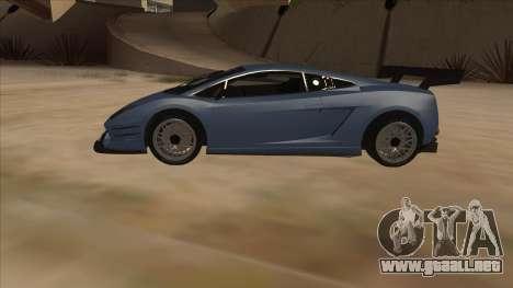 Lamborghini Gallardo LP560-4 Tuned para GTA San Andreas left