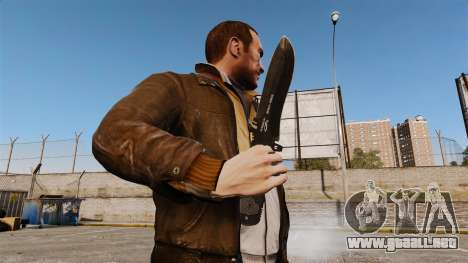 Cuchillo táctico v6 para GTA 4