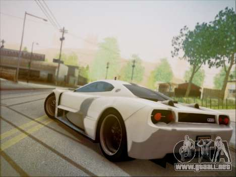 Joss JP1 2010 Supercar V1.0 para GTA San Andreas left