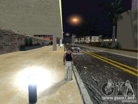 El nuevo aeropuerto, Los Santos para GTA San Andreas sucesivamente de pantalla