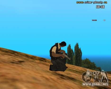 White Chrome Desert Eagle para GTA San Andreas tercera pantalla