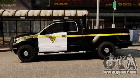 Ford F-150 v3.3 State Trooper [ELS & EPM] v3 para GTA 4 left