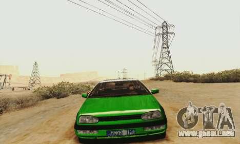 Volkswagen Golf Mk3 GTi 1997 para GTA San Andreas left