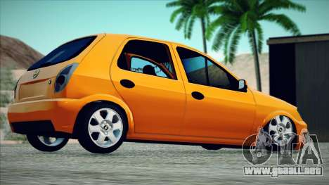 Chevrolet Celta para GTA San Andreas left