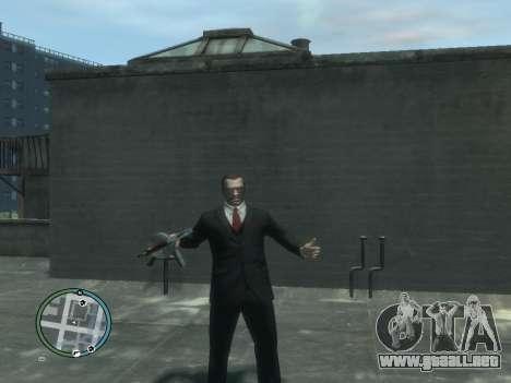 Thompson para GTA 4 adelante de pantalla