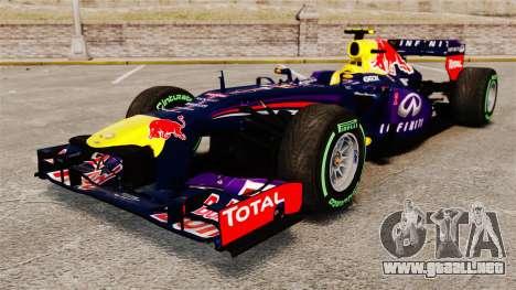 Coche, Red Bull RB9 v3 para GTA 4