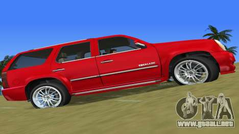 Cadillac Escalade para GTA Vice City left
