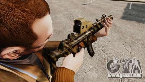 MP5SD subfusil ametrallador v3 para GTA 4 segundos de pantalla