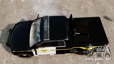 Ford F-150 v3.3 State Trooper [ELS & EPM] v1 para GTA 4 visión correcta