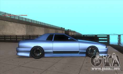 Elegy awesome D.edition para GTA San Andreas left