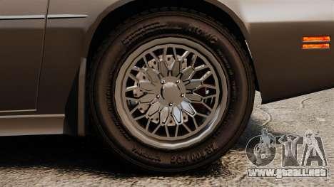 Imponte Phoenix 455 RS para GTA 4 vista hacia atrás