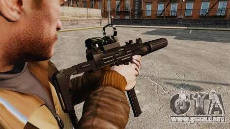 Táctico Uzi v2 para GTA 4 segundos de pantalla