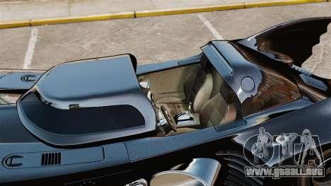 El guión del Batimóvil para GTA 4 quinta pantalla