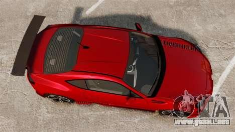 Subaru BRZ Rocket Bunny Aero Kit Hoonigan para GTA 4 visión correcta