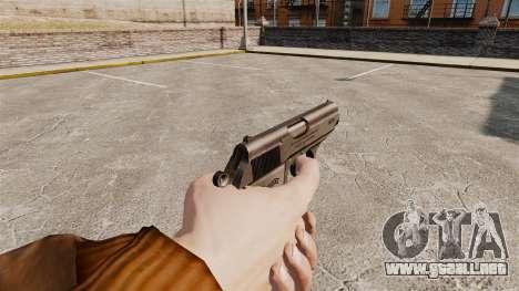 Walther PPK pistola autocargable v2 para GTA 4 segundos de pantalla