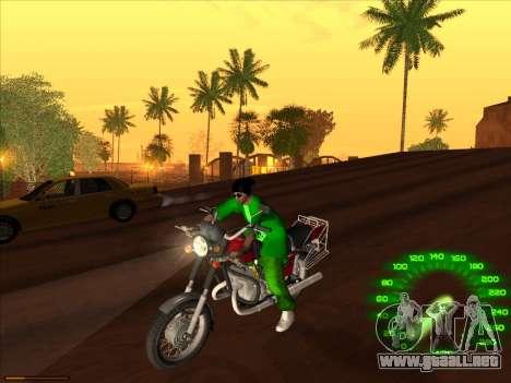 Nueva piel Groove st. para GTA San Andreas sucesivamente de pantalla