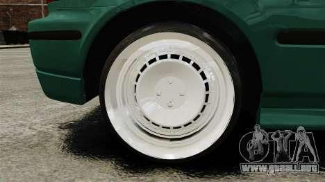 Honda Civic Al Sana para GTA 4 vista hacia atrás