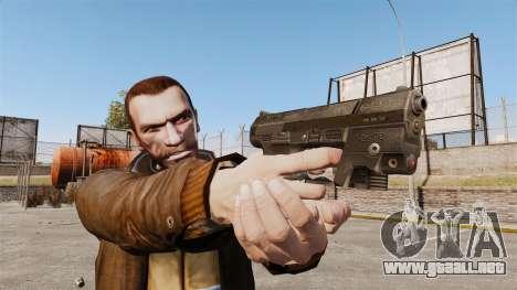 Walther P99 pistola semi-automática v1 para GTA 4 tercera pantalla