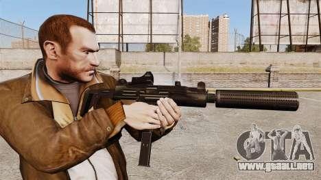 V1 Uzi Tactical para GTA 4