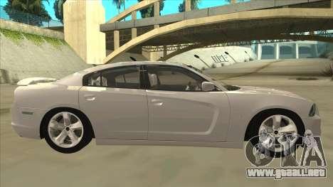 Dodge Charger RT 2011 V2.0 para GTA San Andreas vista posterior izquierda