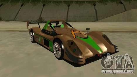 Radical SR8 RX para GTA San Andreas left