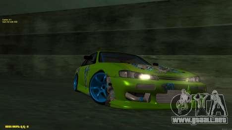 Nissan Silvia S14 CIAY para GTA San Andreas left