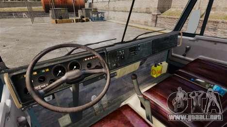 KAMAZ-53212 v1.4 para GTA 4 vista interior