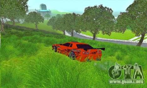 Elegy Sport para GTA San Andreas left