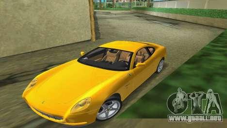 Ferrari 612 Scaglietti 2005 para GTA Vice City visión correcta