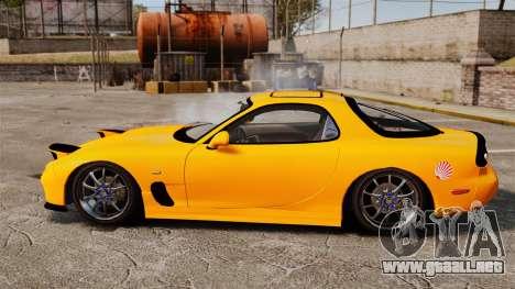 Mazda RX-7 FD3S para GTA 4 left