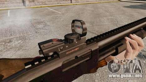 Escopeta táctica v2 para GTA 4 quinta pantalla
