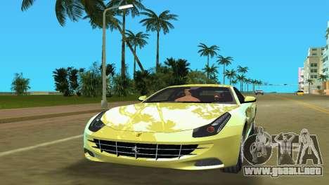 Ferrari FF 2011 para GTA Vice City left
