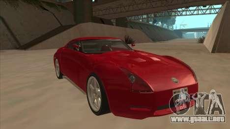Melling Hellcat Custom para GTA San Andreas left