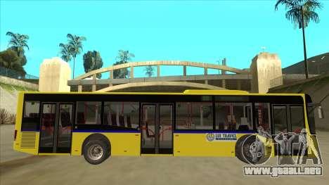 Bus Line 88 Novi Zeleznik para GTA San Andreas vista posterior izquierda