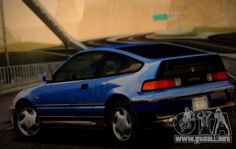 Honda CR-X 1991 para GTA San Andreas left