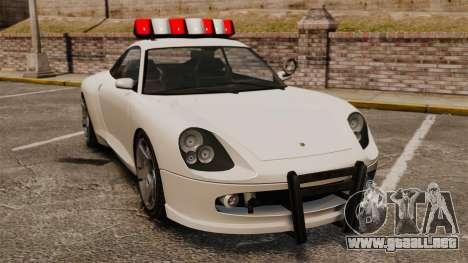 Policía cometa para GTA 4