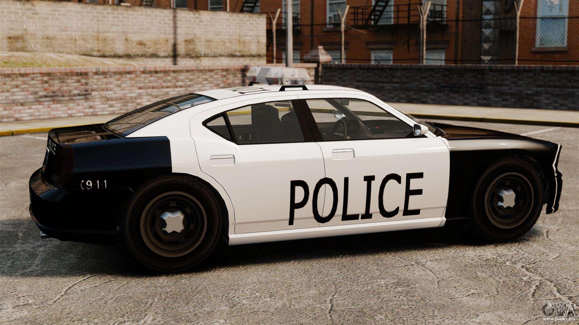 Excepcional Páginas Para Colorear De Autos De Policía Modelo ...
