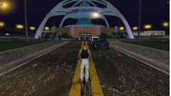 El nuevo aeropuerto, Los Santos