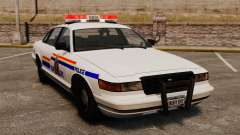 La real policía montada del Canadá