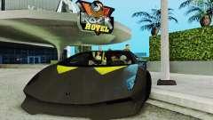 Lamborghini Sesto elemento купе para GTA San Andreas