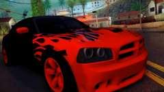 Dodge Charger SRT-8 Tuning para GTA San Andreas