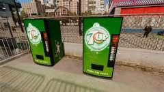 7 máquinas expendedoras