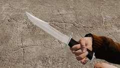 Cuchillo del Alabama Slammer, cromo plateado