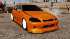 Honda Civic Gtaciyiz 2 para GTA 4