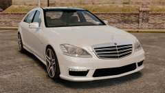 Mercedes-Benz S65 W221 AMG Stock v1.2 para GTA 4