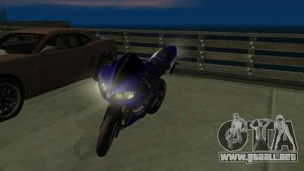 Yamaha R1 para GTA San Andreas