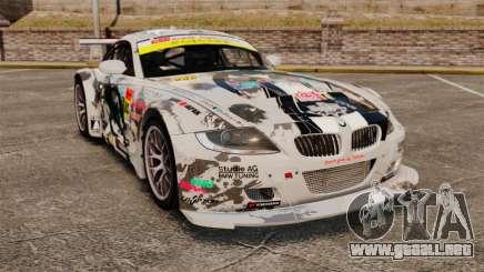 BMW Z4 M Coupe GT Black Rock Shooter para GTA 4