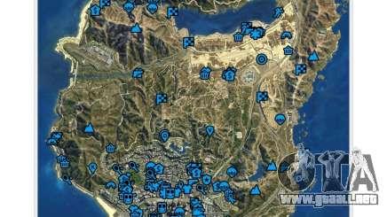 GTA V: El Manual: el mapa interactivo para GTA 5