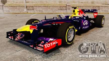 Coche, Red Bull RB9 v5 para GTA 4