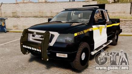 Ford F-150 v3.3 State Trooper [ELS & EPM] v2 para GTA 4